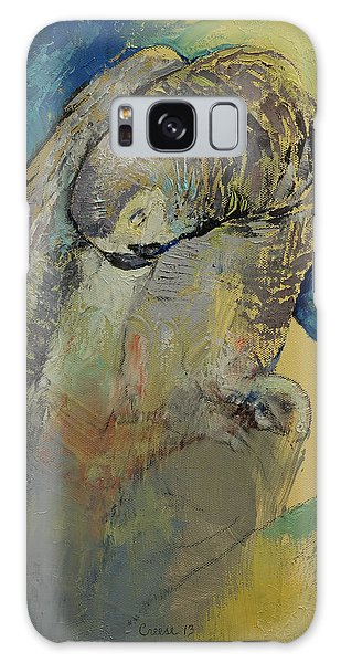 Grey Parrot Galaxy S8 Case