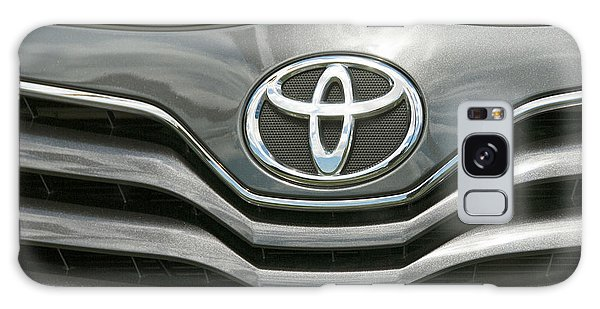 Grey Toyota Grill And Emblem Smile Galaxy Case