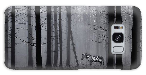 Creative Galaxy Case - Grey Zebra In The Mist... by Heaven Man