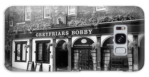 Greyfriars Bobby In Edinburgh Scotland  Galaxy Case