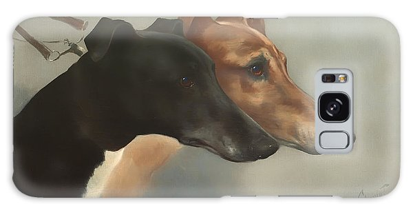 Leash Galaxy Case - Greyhounds  by Mountain Dreams