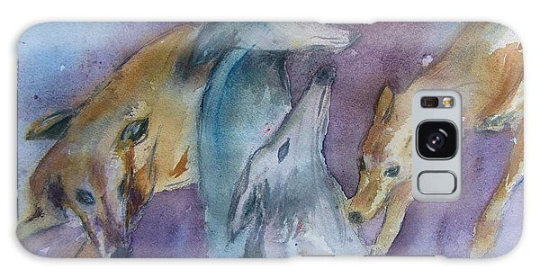 Greyhounds Having A Meeting Galaxy Case