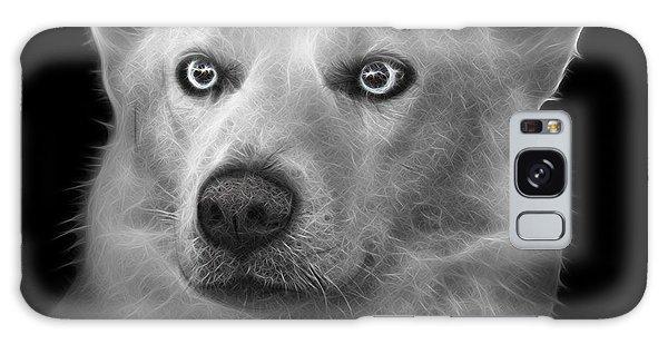 Greyscale Mila - Siberian Husky - 2103 - Bb Galaxy Case