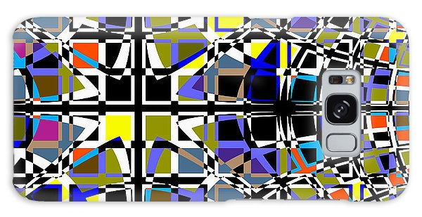 Grid Galaxy Case by Barbara Moignard
