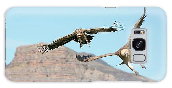 Griffon Vultures Flying Galaxy Case