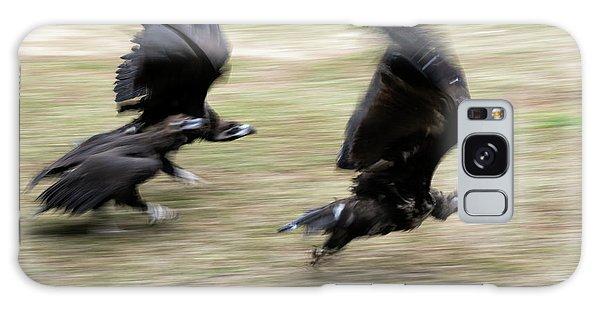 Griffon Vultures Taking Off Galaxy Case
