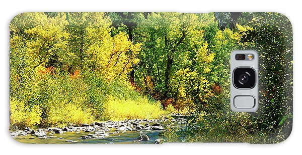 Grimes Creek Autumn Boise County Idaho Galaxy Case