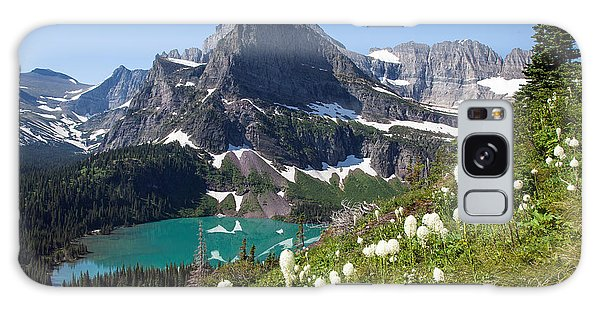 Grinnell Lake With Beargrass Galaxy Case
