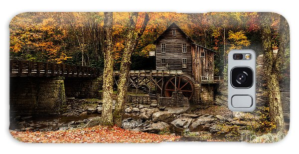 Grist Mill At Babcock Park Pano Galaxy Case