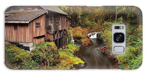 Grist Mill In Autumn Galaxy Case