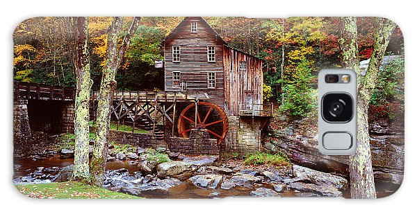 Grist Mill In Babcock St. Park Galaxy Case