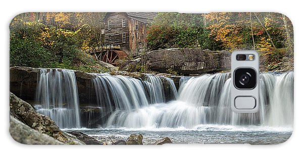 Grist Mill With Vibrant Fall Colors Galaxy Case