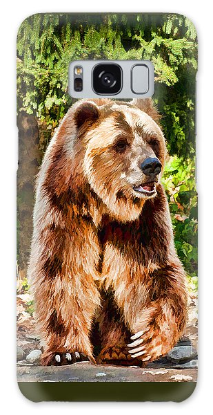 Grizzly Bear - Painterly Galaxy Case