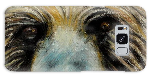 Grizzly Eyes Galaxy Case by Jeanne Fischer