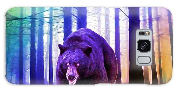 Grizzly In The Woods Galaxy Case
