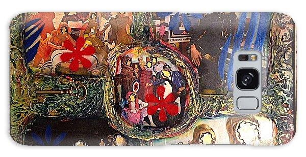 Alfredo Garcia Galaxy Case - Groovy Celebrations By Alfredo Garcia by Alfredo Garcia