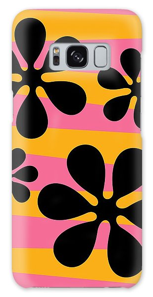 Groovy Flowers I Galaxy Case