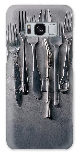 Group Of Clean Forks Galaxy Case