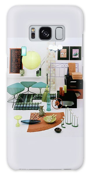 Group Of Furniture And Decorations In 1960 Colors Galaxy Case