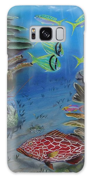 Grouper On The Reef Galaxy Case