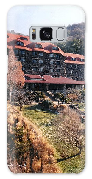Grove Park Inn In Early Winter Galaxy Case
