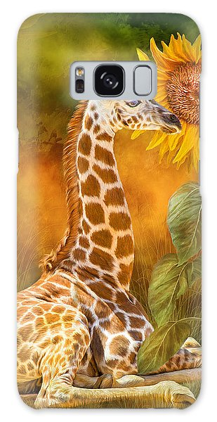 Growing Tall - Giraffe Galaxy Case