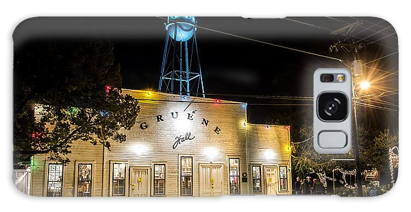 Gruene Hall Galaxy Case by Andy Crawford