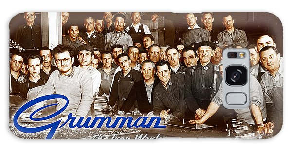 Grumman Iron Works Shop Workers Galaxy Case
