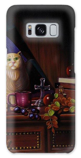 Grumpy Cat Galaxy Case by Gene Gregory