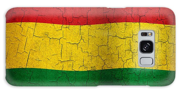 Grunge Bolivia Flag Galaxy Case