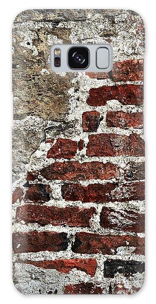 Stone Wall Galaxy Case - Grunge Brick Wall by Elena Elisseeva