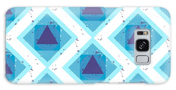 Concept Galaxy Case - Grunge Colorful Abstract Geometric by Barsrsind