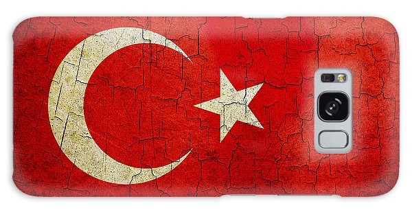 Grunge Turkey Flag Galaxy Case