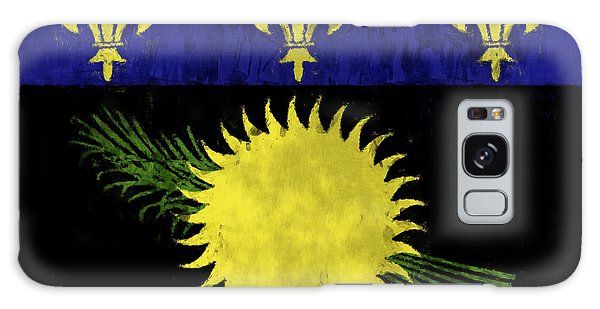 Bahamas Galaxy Case - Guadeloupe Flag by World Art Prints And Designs