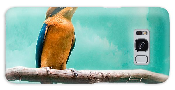 Galaxy Case featuring the photograph Guam Kingfisher - Exotic Birds by Gary Heller