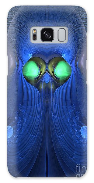Guardian Of Souls - Surrealism Galaxy Case by Sipo Liimatainen