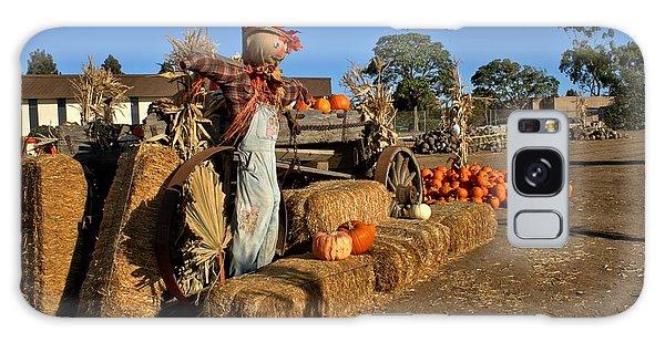 Guarding The Pumpkin Patch Galaxy Case