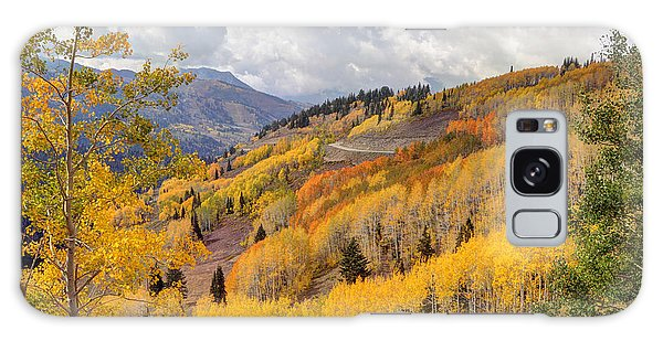 Guardsman Pass Aspen - Big Cottonwood Canyon - Utah Galaxy Case