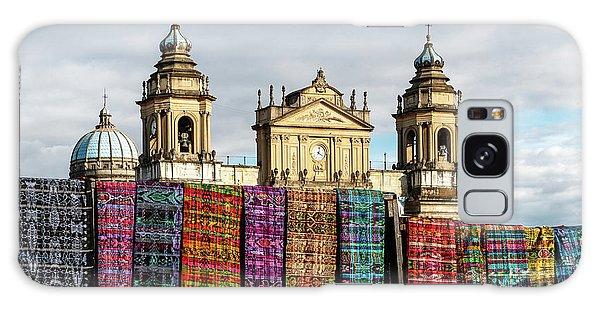Colours Galaxy Case - Guatemala City Cathedral by Francisco Mendoza Ruiz