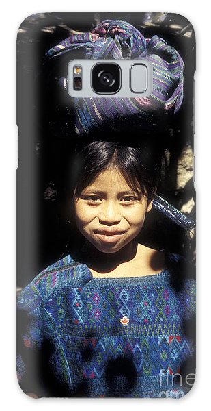 Guatemala Smiling Maya Girl Galaxy Case