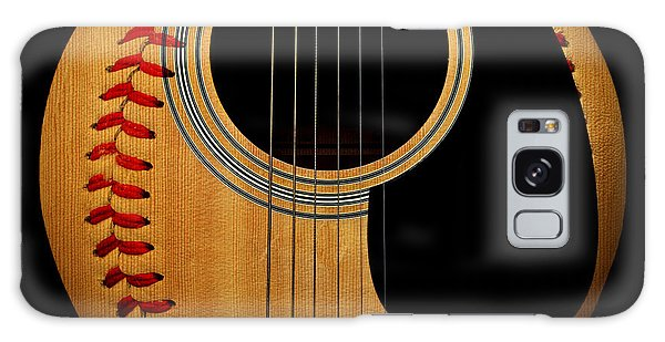 Guitar Baseball Square Galaxy Case by Andee Design