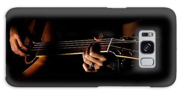 Guitar Player Galaxy Case