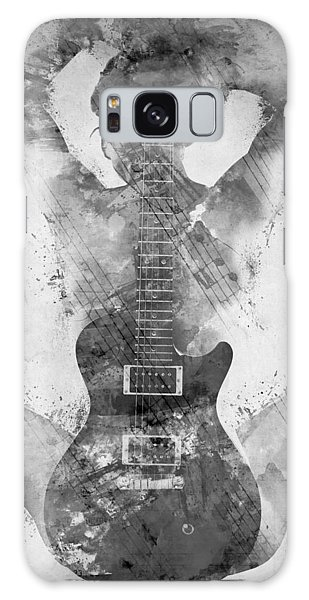 Figures Galaxy Case - Guitar Siren In Black And White by Nikki Smith