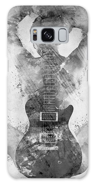 Rock And Roll Galaxy S8 Case - Guitar Siren In Black And White by Nikki Smith