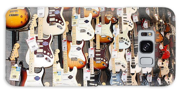 Guitar Wall Of Fame Galaxy Case by John Telfer