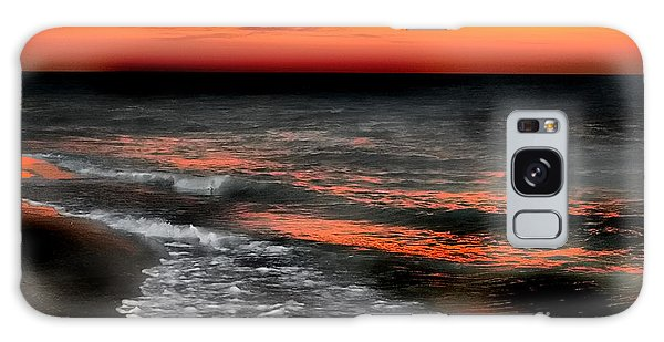 Gulf Coast Sunset Galaxy Case