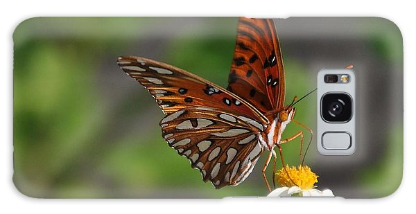 Gulf Fritillary Galaxy Case by Michele Kaiser