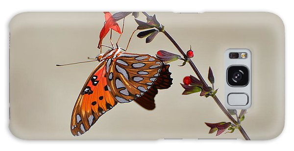Gulf Fritillary Underwings Galaxy Case