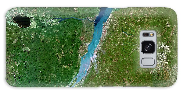 Quebec City Galaxy Case - Gulf Of Saint Lawrence by Planetobserver/science Photo Library