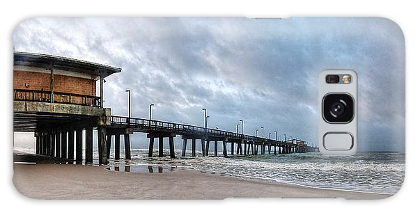 Gulf State Pier Galaxy Case by Michael Thomas